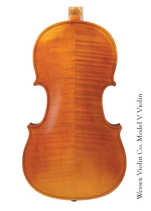 Model V Violin Back