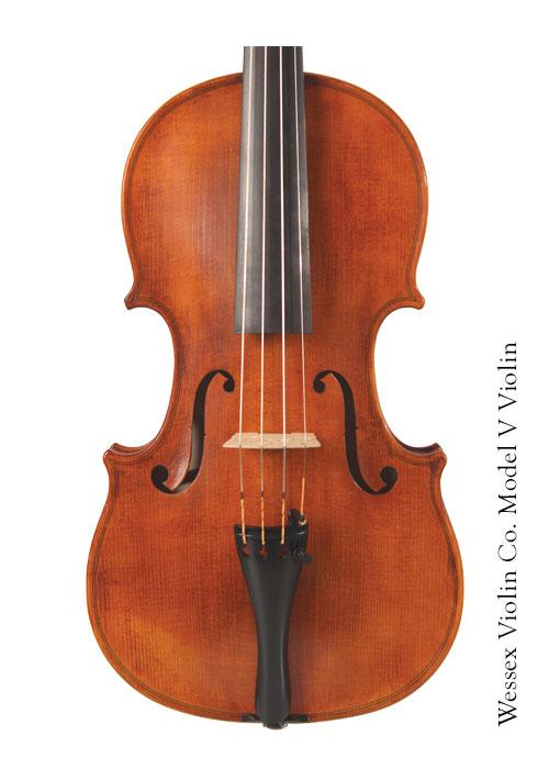 Model V Violin Front